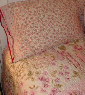 Liz Claiborne Batik Sheet Set Chic Shabby Twin Sheets