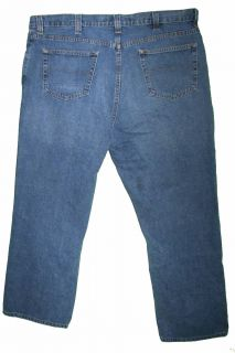 Liz Claiborne Straight Sz 40 x 29 Mens Blue Jeans Denim Pants BD10