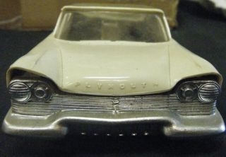 1957 PLYMOUTH BELVEDERE   Rare Johan 1/25 scale Promo Model   Two Tone