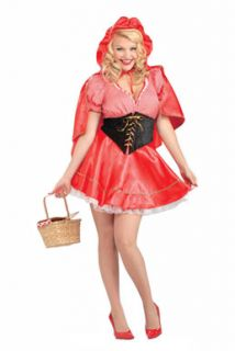 Little Red Riding Hood Halloween Costume Plus Size