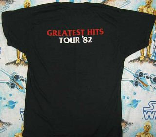 Vtg Little River Band 1982 Greatest Hits T Shirt M Rock 80s Concert