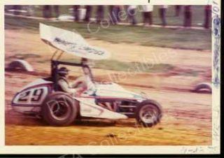 Kenny Weld 29 Sprint Car Auto Racing Photo 1973