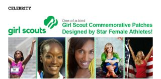 Girl Scout Patches by Lisa Leslie Shawn Johnson Dana Vollmer +More
