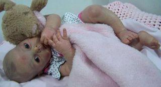 Adrie Stoetes Eva sculpt, prototype #3, reborn baby doll by Terries