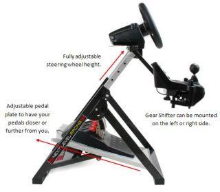NL Racing Simulator Steering Wheel Stand Logitech G25/G27, Fanatec