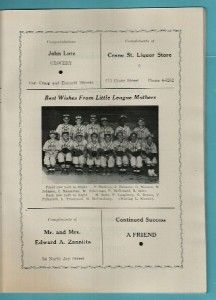 Schenectady Little League 1954 World Series Champions Annual Banquet