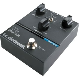 TC Electronic Classic Series TC XII Phaser Pedal Refurb
