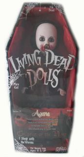 Living Dead Dolls Series 19 Agana Goth Doll New in Box