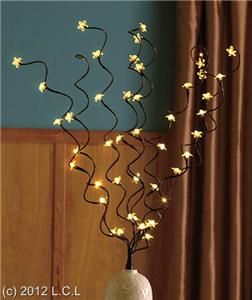 LED Lighted Branches Centerpiece Floral Arrangements Beautiful