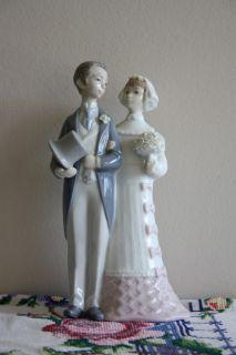Lladro Wedding Bride Groom Figurine