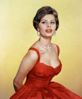 Sophia Loren Actress Framed Personally Signed