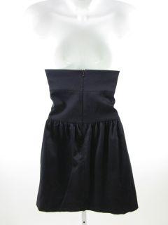 New Lorie L Miami Black Strapless Knee Length Dress Szs