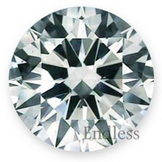 Ct D VS2 Round Certified Natural Loose Diamond