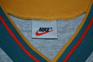 Los Angeles La Galaxy Vintage Nike MLS Gray Green Soccer Jersey Shirt