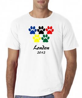 Mens London 2012 Olympics Games Sports UK United Kingdom T Shirt Tee