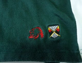 Zealand London Irish Rugby Union Club Jersey Shirt Mens Large