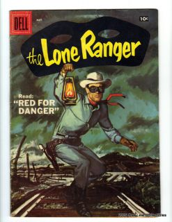 Dell Western Comic Lone Ranger 107 VG F