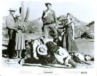 Dean Martin Jerry Lewis Lori Nelson Pardners 8x10 1956