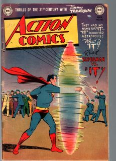 Action Comics 162 1951 Superman Lois Lane Golden Age Comic VG VG