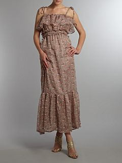 Glamorous Floral print maxi dress Pink