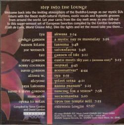 Buddha Lounge 3 Chillout Groove Ethnic Techno Music CD