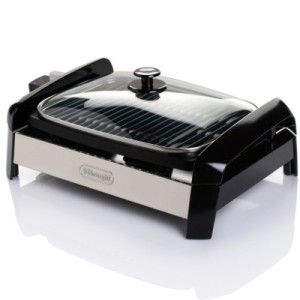 DeLonghi Esclusivo Indoor Grill with Glass Lid Brand New in Box Model