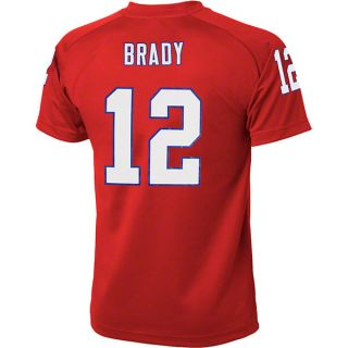 look like their favorite player with this tom brady youth red 12
