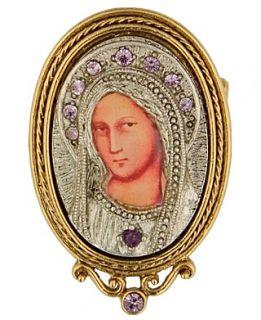 vatican key chain gold tone key and charm key chain $ 22 00