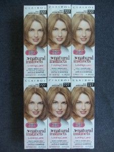 Lot 6 Clairol Loving Care Dark Golden Blonde 727 Hair Color Natural