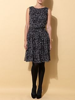 MaxMara Studio Uruguay drop waist dress Black