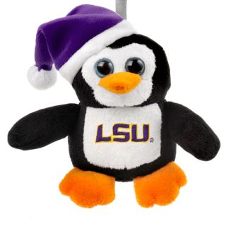 LSU Tigers Big Eye Plush Penguin Ornament