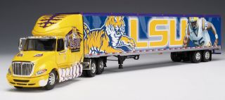 LSU Tigers International Die Cast Tractor Trailer