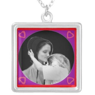 Amish Mother Daughter Love Necklace