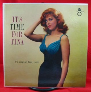 Tina Louise Its Time for Tina LP Concert Hall Mono DG Orig