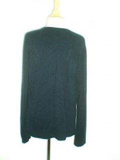 Fabulous Lucien Pellat Finet Italy Black Skull 100 Cashmere Sweater