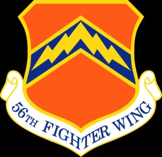 from the 56th fighter wing located at luke air force base arizona
