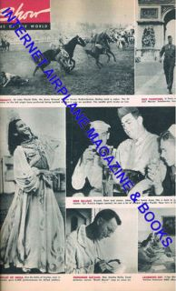 Army Magazine Oct 26 1945 Susan Hayward Louis Zamperini Story