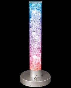 LumiSource Novelty Radiance Table Lamp Acrylic Multi Colored LED LS