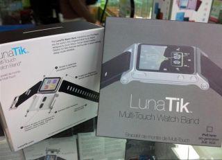 LunaTik 2 Wrist Strap Aluminum Watch Case Without Screws for iPod Nano