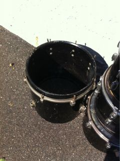 Ludwig Mixed Vintage Current 5 PC Drum Set Kit Drumset