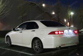 Direct Fit White LED License Plate Light Lamps for Acura TL TSX Honda