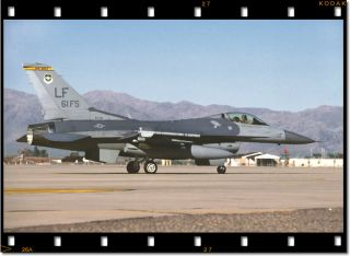 61st Fighter Squadron F 16C Fighting Falcon at Luke AFB, AZ