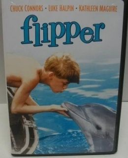 Flipper DVD Dolphin Movie Chuck Connors Luke Halpin Connie Scott Jane