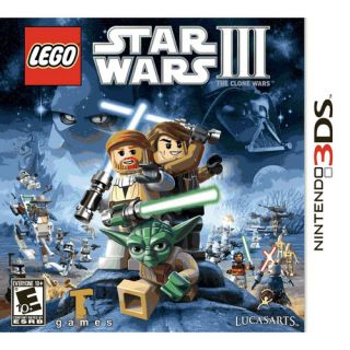 LucasArts Lego Star Wars III The Clone Wars for Nintendo 3DS