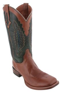 Lucchese Honey Oil Calf M4054 Cowboy Boots Mens