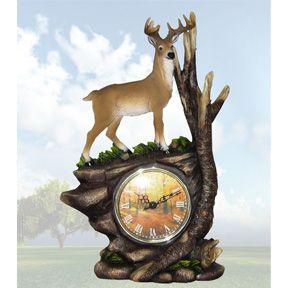Deer Clock Also Have Budweiser Miller Coors Jack Daniels Coke Metal