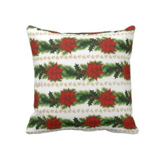 Christmas Wreath Pillow - Free Crochet Pattern