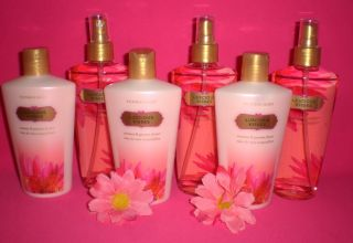 Victoria Secret Fantasies Luscious Kisses Lotion Mist Set