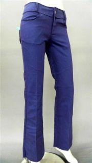 Lucy Love Junior 7 Stretch Color Denim Flare Jeans Purple Designer