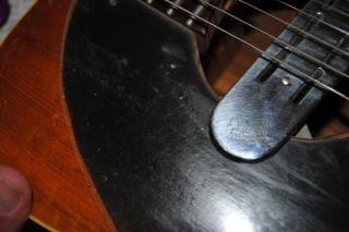 RARE Vintage 1960s Fender Malibu Acoustic Guitar w DeArmond Pickup